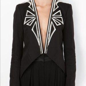 "Sass & bide ""Down to Earth"" Asymmetrical jacket"